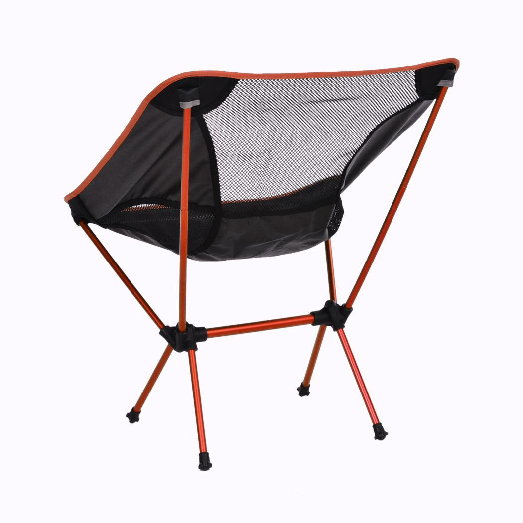 Folding Seat Stool Portable Outdoor Fishing Camping Garden Beach Chair Carry