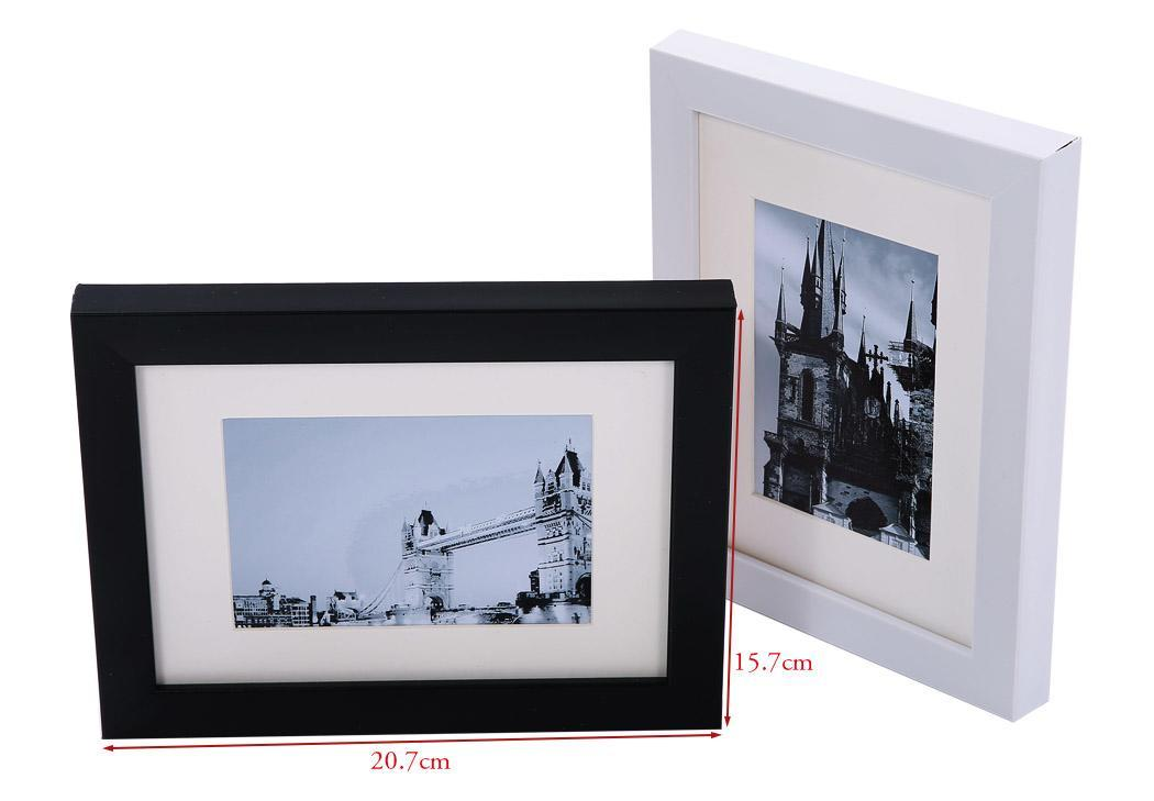Beautiful wall hanging modern wood gallery collage picture for Modern collage frame