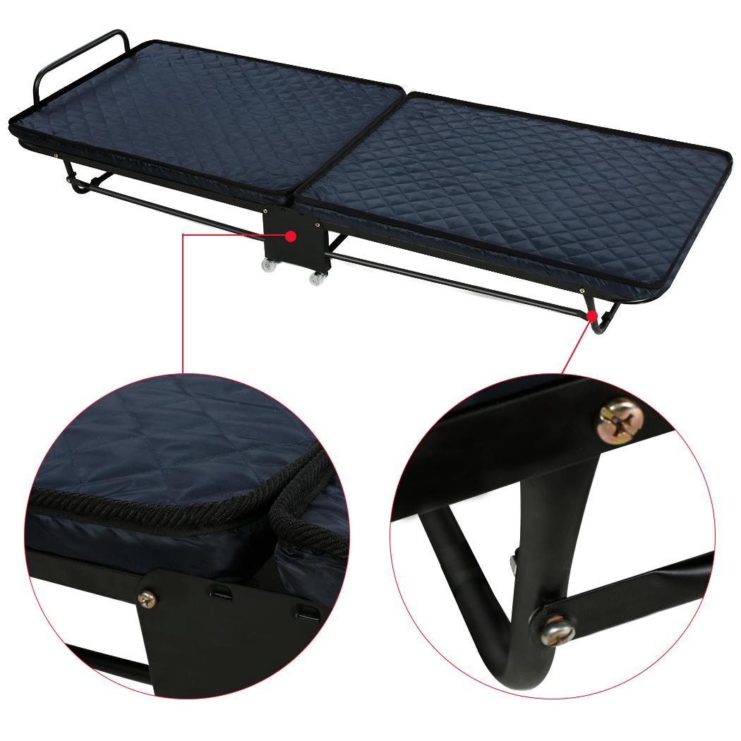 43 Quot Folding Bed Foam Mattress Roll Away Guest Portable