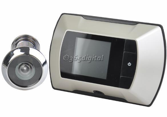 2 4 lcd optischer monitor t r t rspion katzenauge guckloch kabellos ansicht ebay. Black Bedroom Furniture Sets. Home Design Ideas