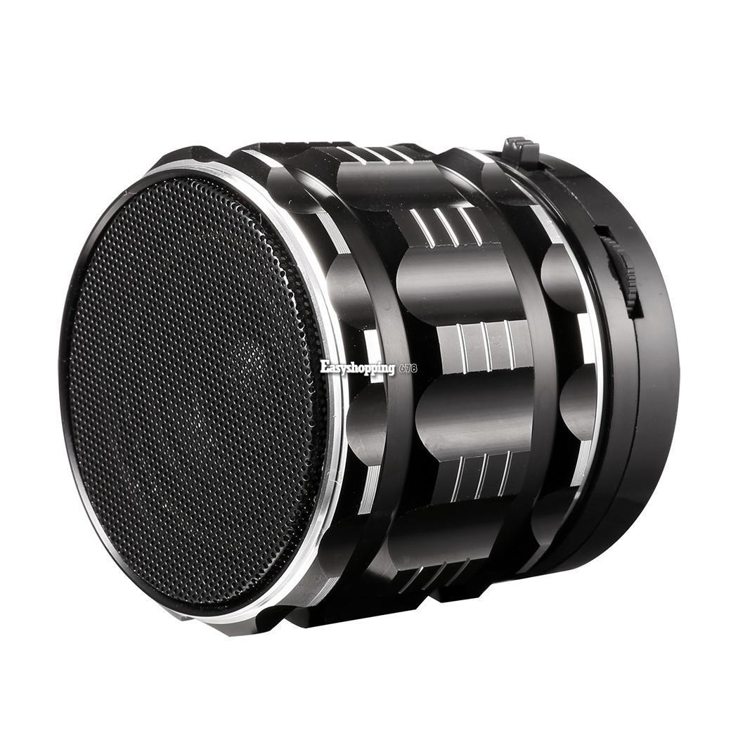 Mini reproductor de m sica met lico altavoz bluetooth for Altavoz de musica