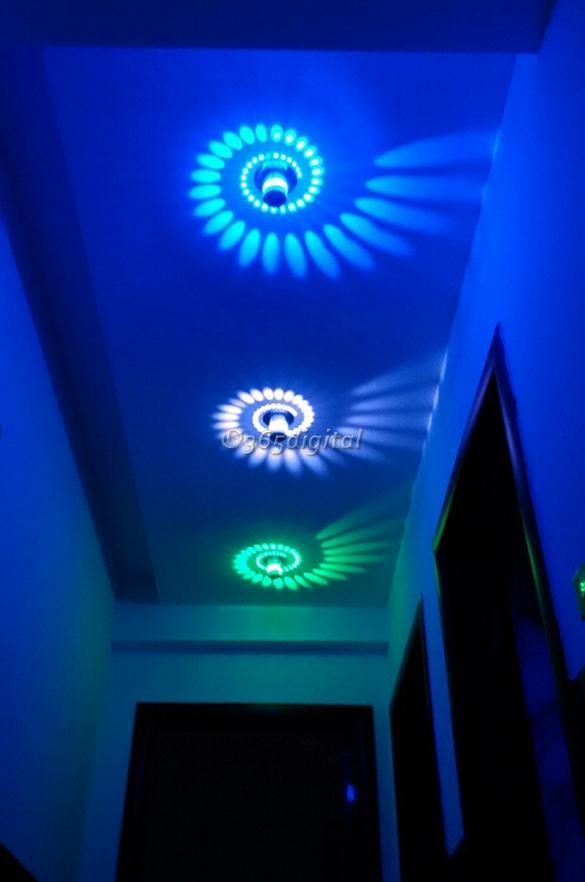3w led lampe murale lumi re applique escaliers porche hall d 39 entr e d cor ebay. Black Bedroom Furniture Sets. Home Design Ideas