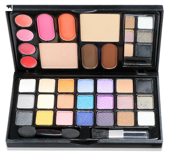 pro warm couleurs fard paupi res mat shimmer palette kit de maquillage set ebay. Black Bedroom Furniture Sets. Home Design Ideas