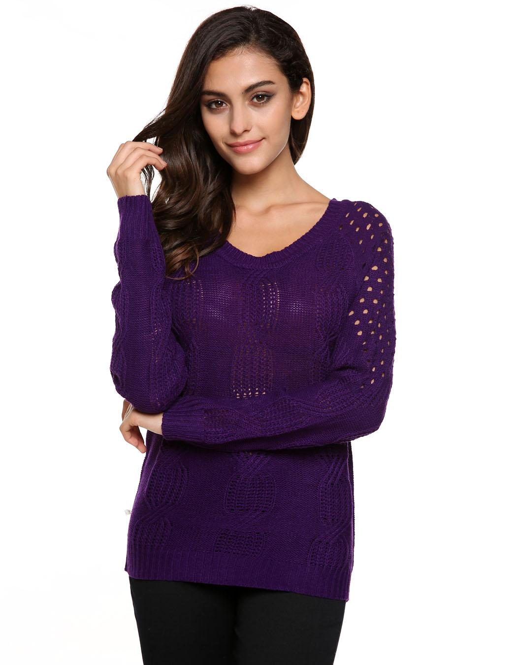 Neu Damen kuschelig Pulli Pullover sweater Longshirt ...