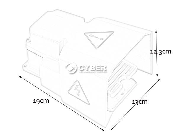 industrial aluminum cast heavy duty foot switch pedal with