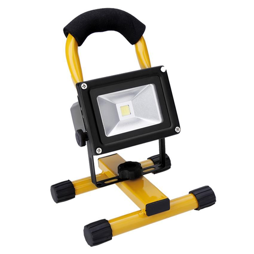 100 Led Rechargeable Cordless Work Light Garage Inspection: LED FLood 10W Rechargeable Portable Work Lights Outdoor