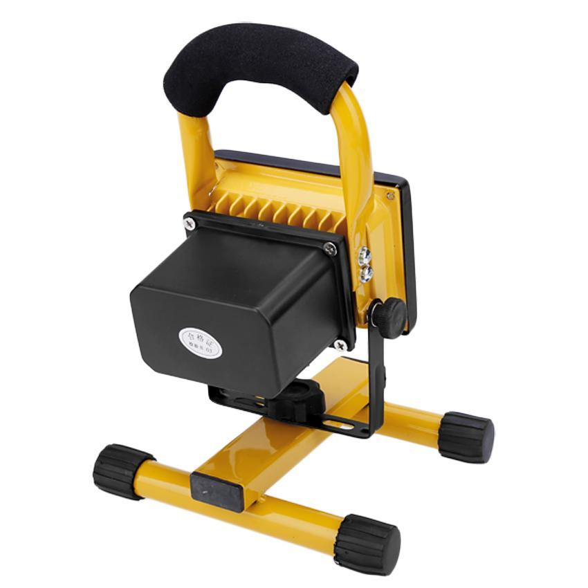 Led Rechargeable Work Light 10w For Garage: LED FLood 10W Rechargeable Portable Work Lights Outdoor