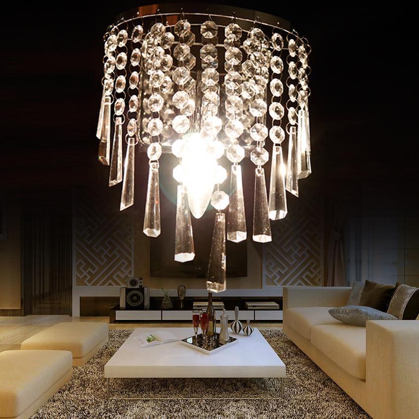 Crystal Wall Lamp Bedroom Bedside Lamp Aisle Corridor Hotel Wall Lamp+Led Bulbs eBay