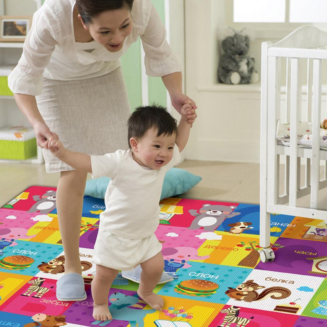 baby toddler play crawl kid mat carpet playmat foam blanket rug for in out doors. Black Bedroom Furniture Sets. Home Design Ideas