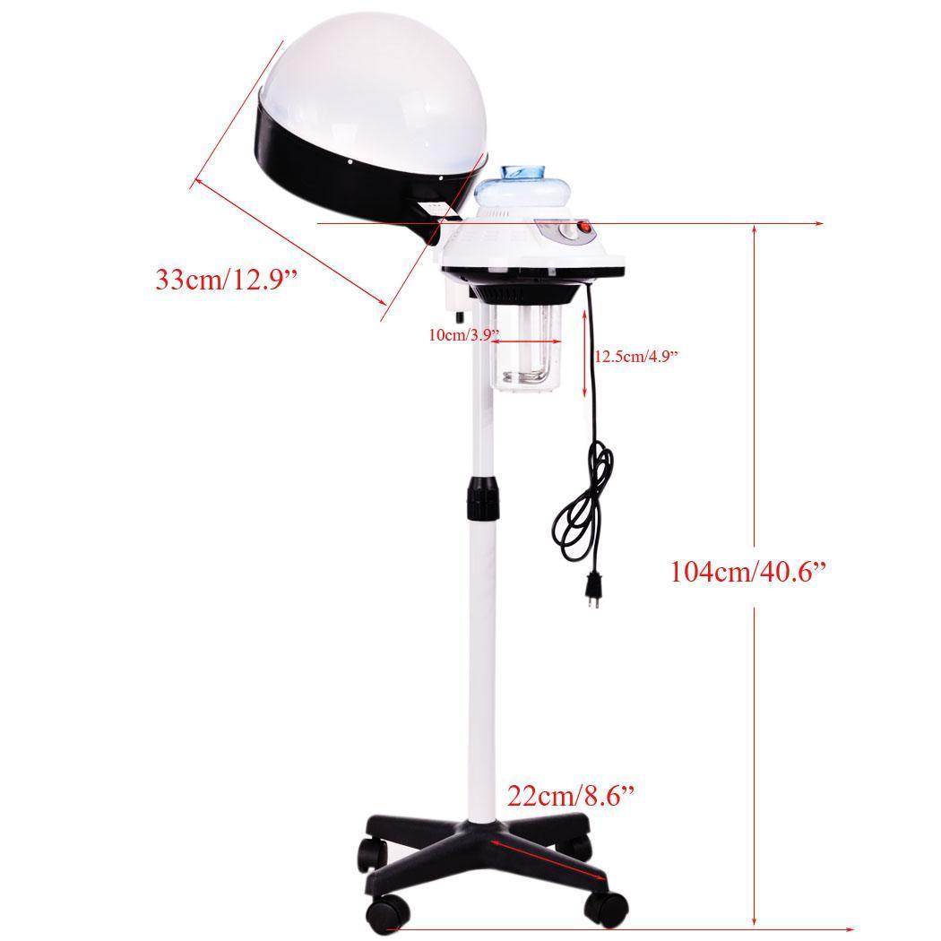 Professional hair steamer salon spa beauty equipment hood for Professional beauty salon equipment