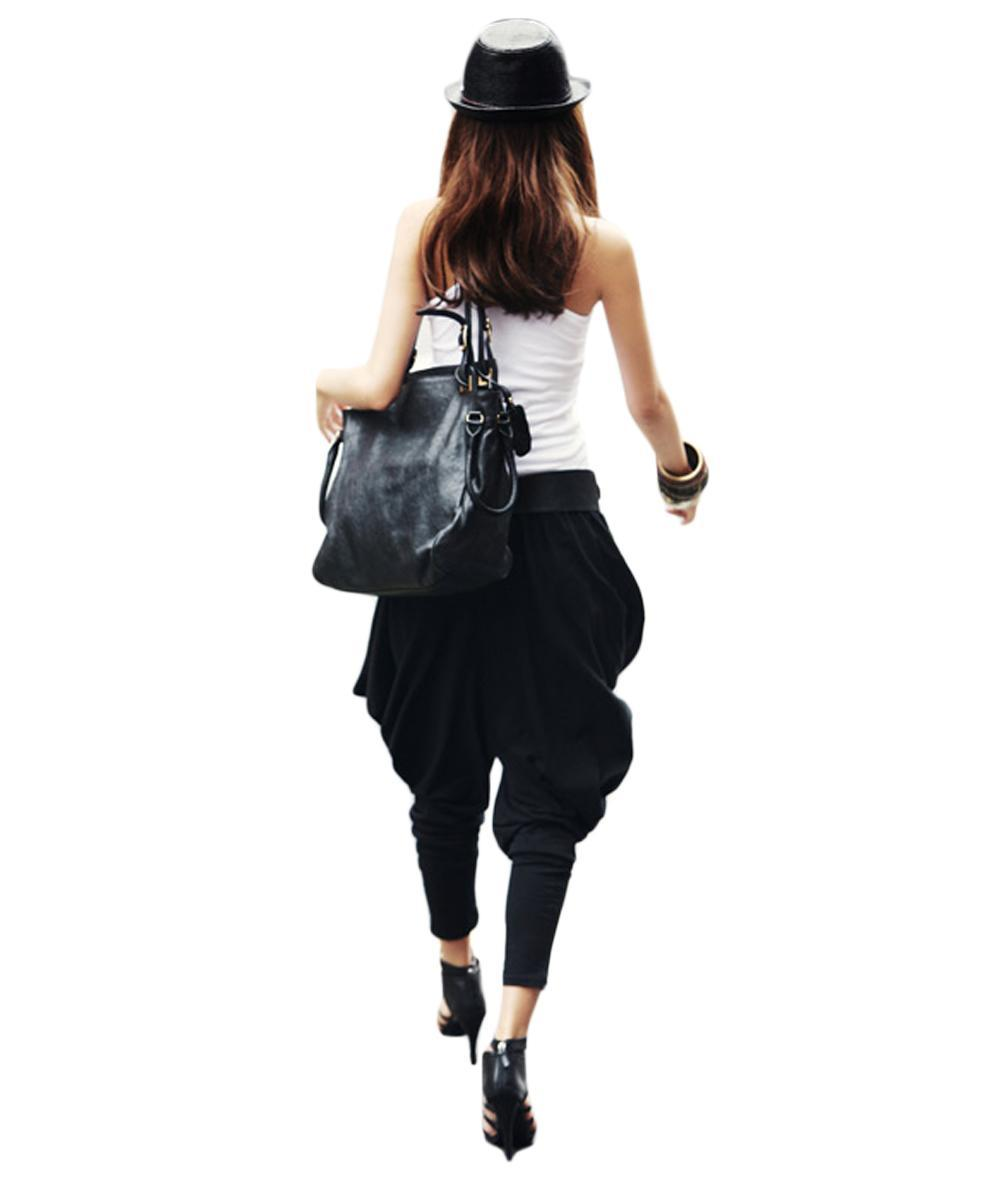 Elegant  Long Harem Ladies Baggy Trousers Pants  11street Malaysia  Pants