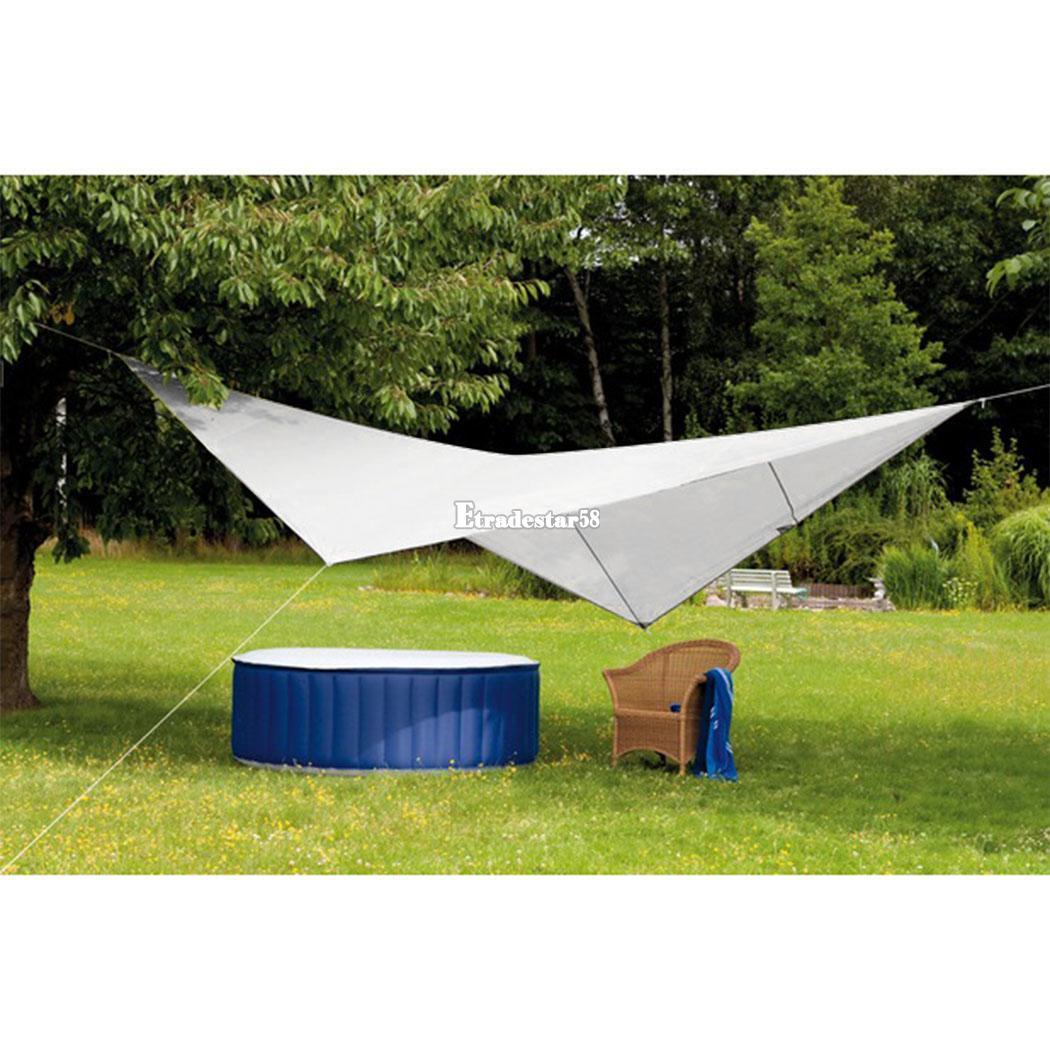 sonnensegel 4x4m sonnenschutz beschattung dreieck quadrat. Black Bedroom Furniture Sets. Home Design Ideas