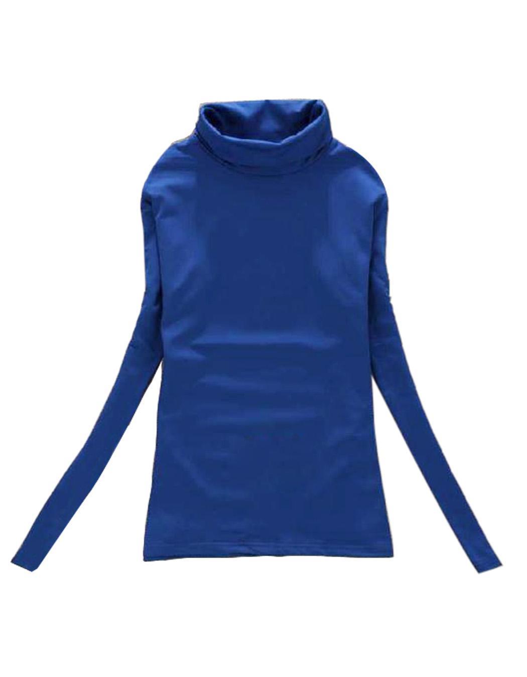Sunweb women pullovers turtleneck long sleeve basic t for Long sleeve black turtleneck shirt