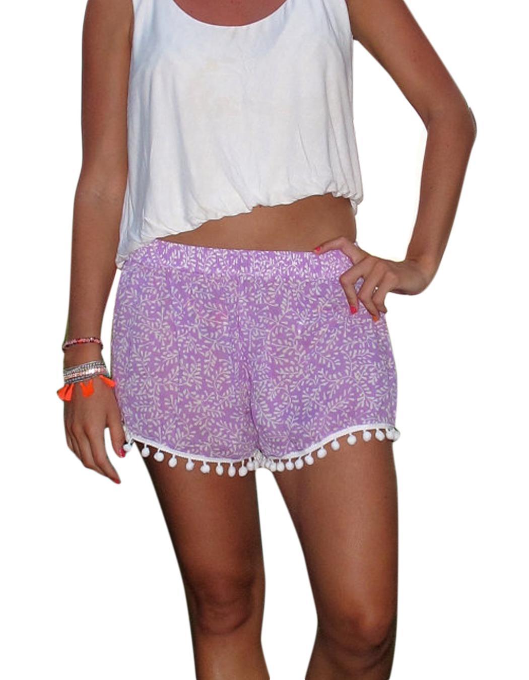 Boho hippy donna pantaloncini hot estate pantaloncini casual costume da bagno ebay - Costume da bagno inglese ...