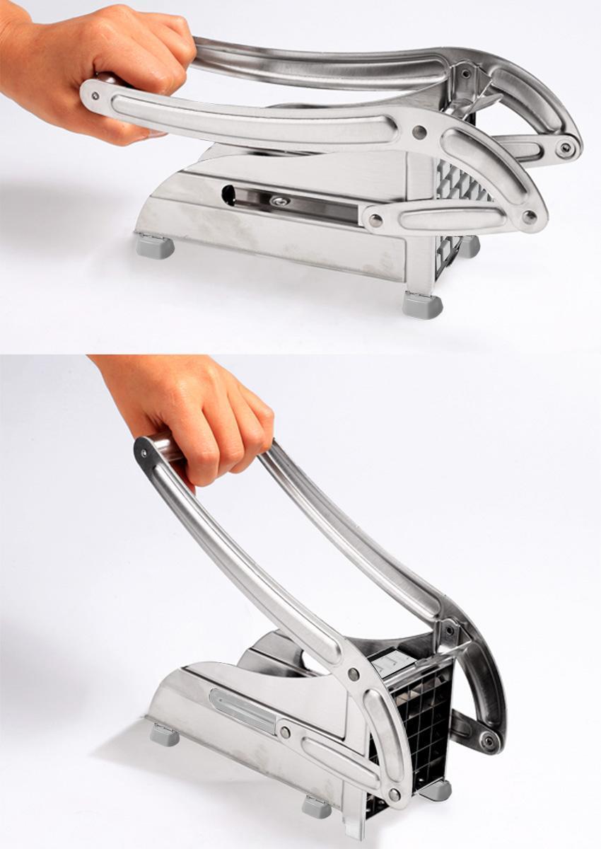french fry potato chip cutter slicer maker vegetable chopper blade cooking tools ebay. Black Bedroom Furniture Sets. Home Design Ideas