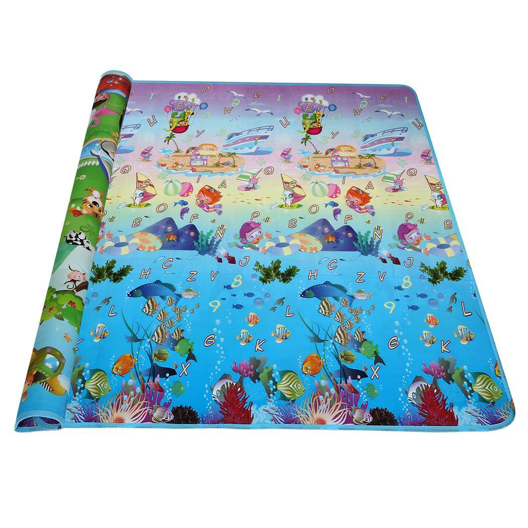 Arshiner baby kids children play mat picnic cushion for Alfombra costo