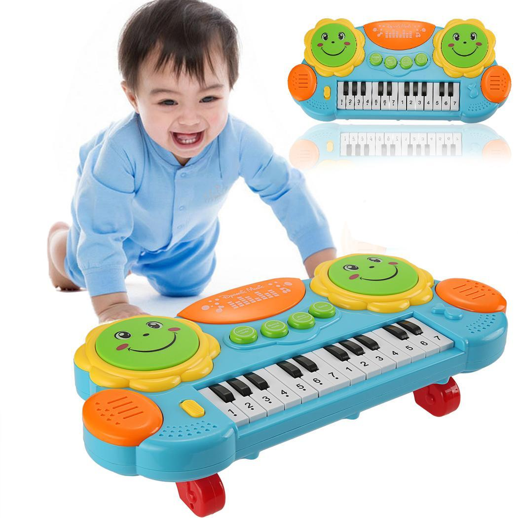 Toddler Development Toys : Baby kids educational development music toy electronic