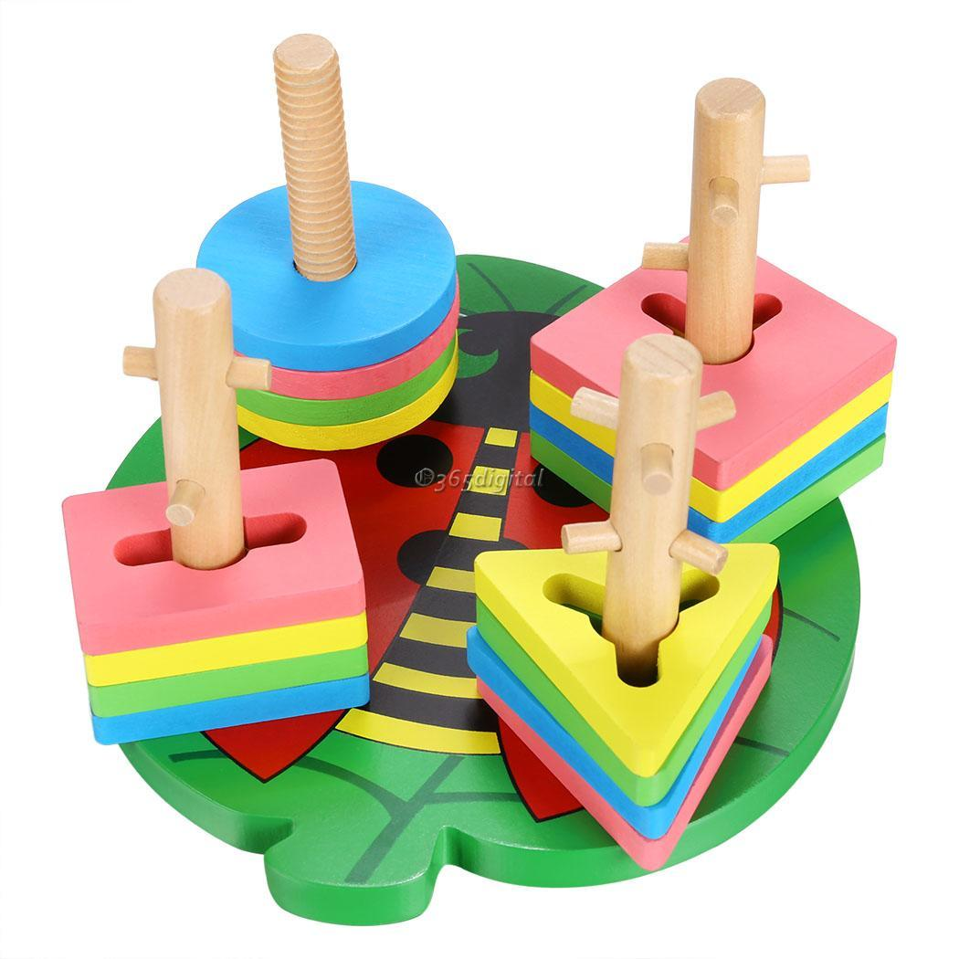 Early Childhood Educational Toys : Geometric toy sorter color block early childhood