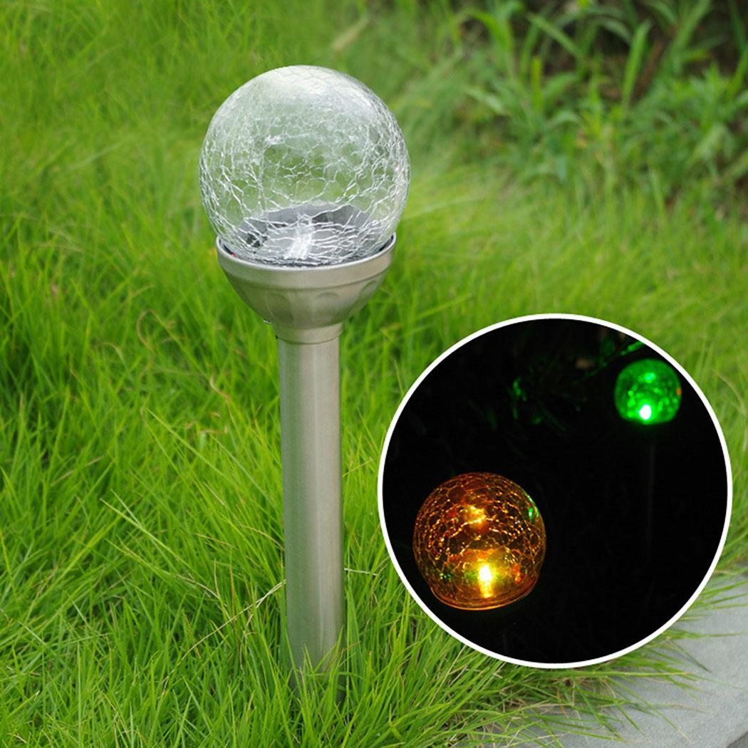 led garten solar kugel 25cm leuchte au enleuchte glaskugel lampe leuchtkugel ebay. Black Bedroom Furniture Sets. Home Design Ideas