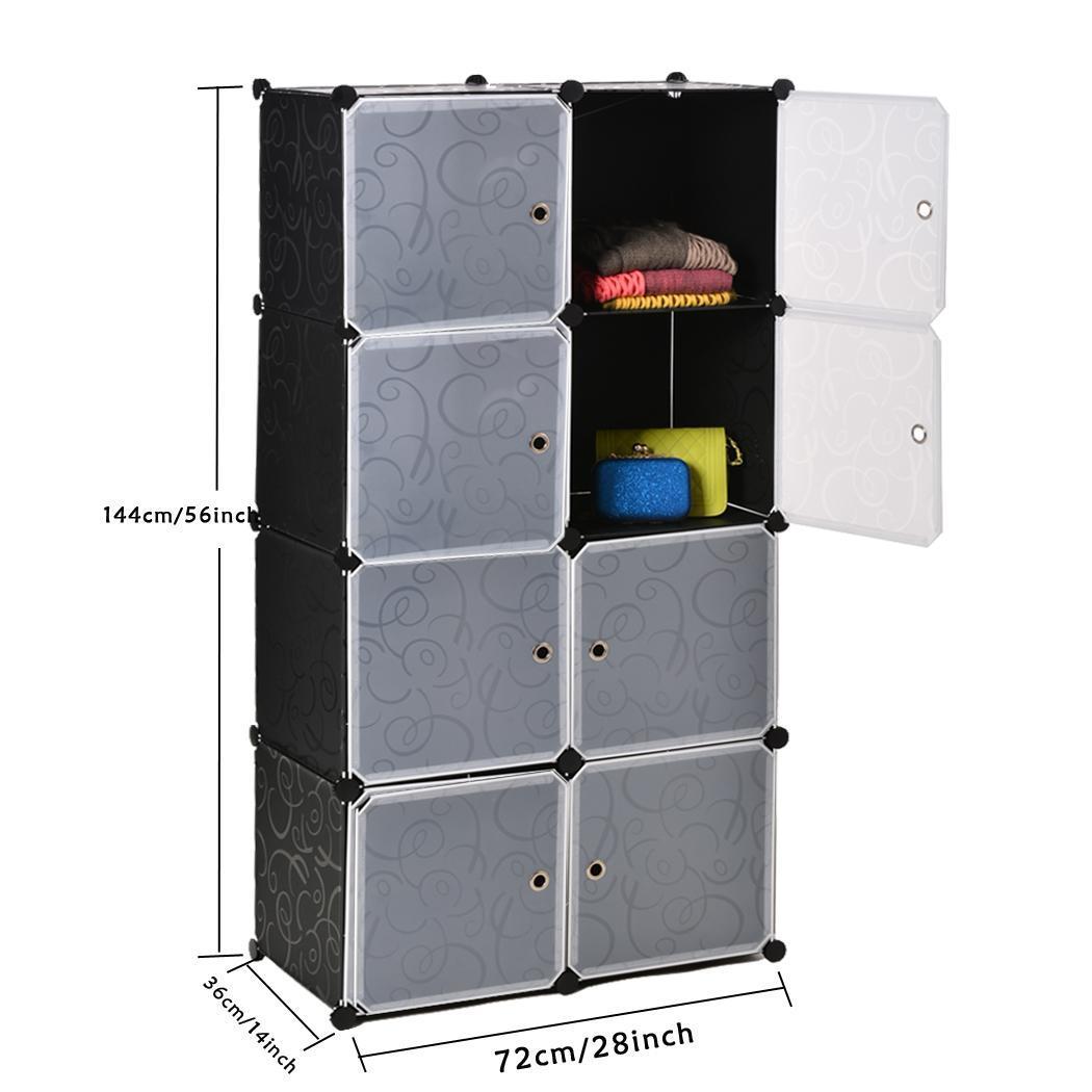 Armario encajable cubo caja organizador de almacenamiento - Meuble de rangement vetement ...