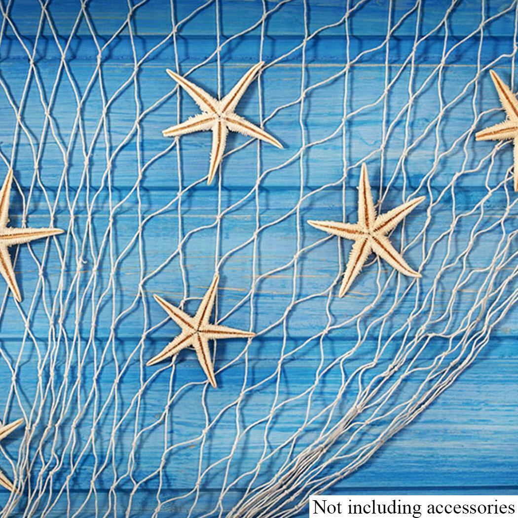 5x10ft decorative nautical fishing net home scene party for Decorative fishing net