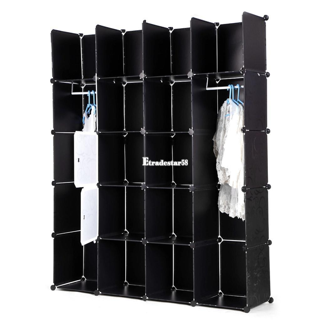 Diy steckregal kunststoff  Kleiderschrank Standregale: Diy regal set standregal ...