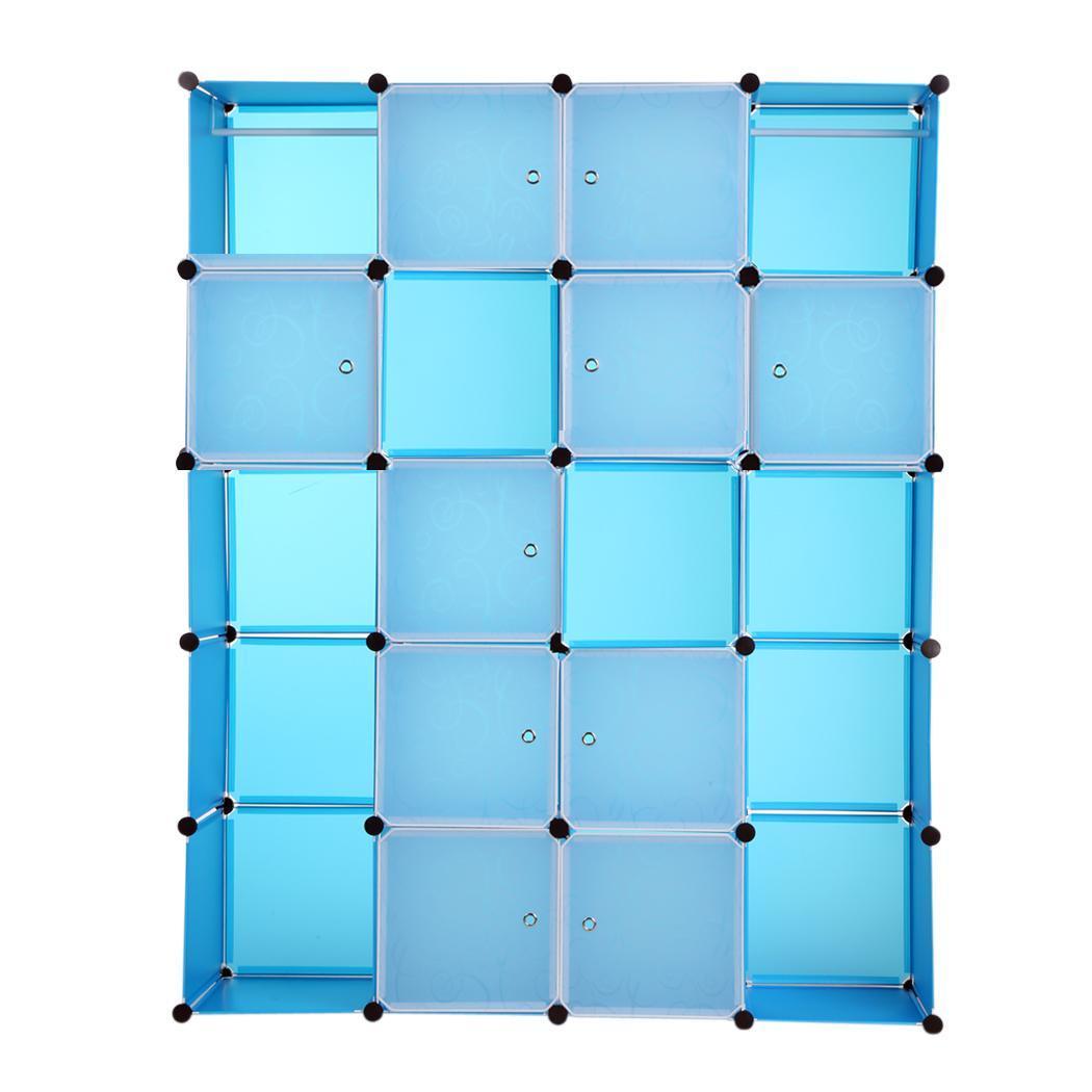 20 boxen regalsystem kleiderschrank badregal sschrank. Black Bedroom Furniture Sets. Home Design Ideas