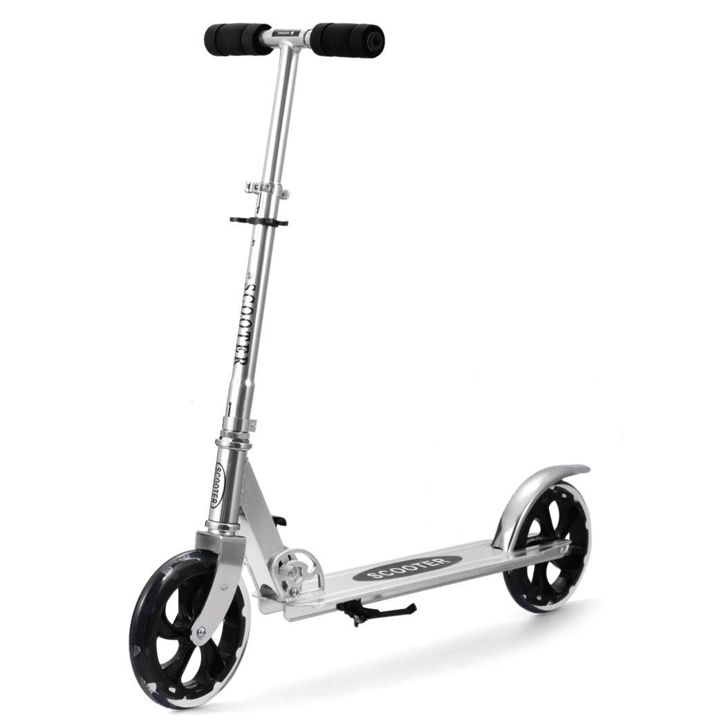 Adult kick scooter late, than