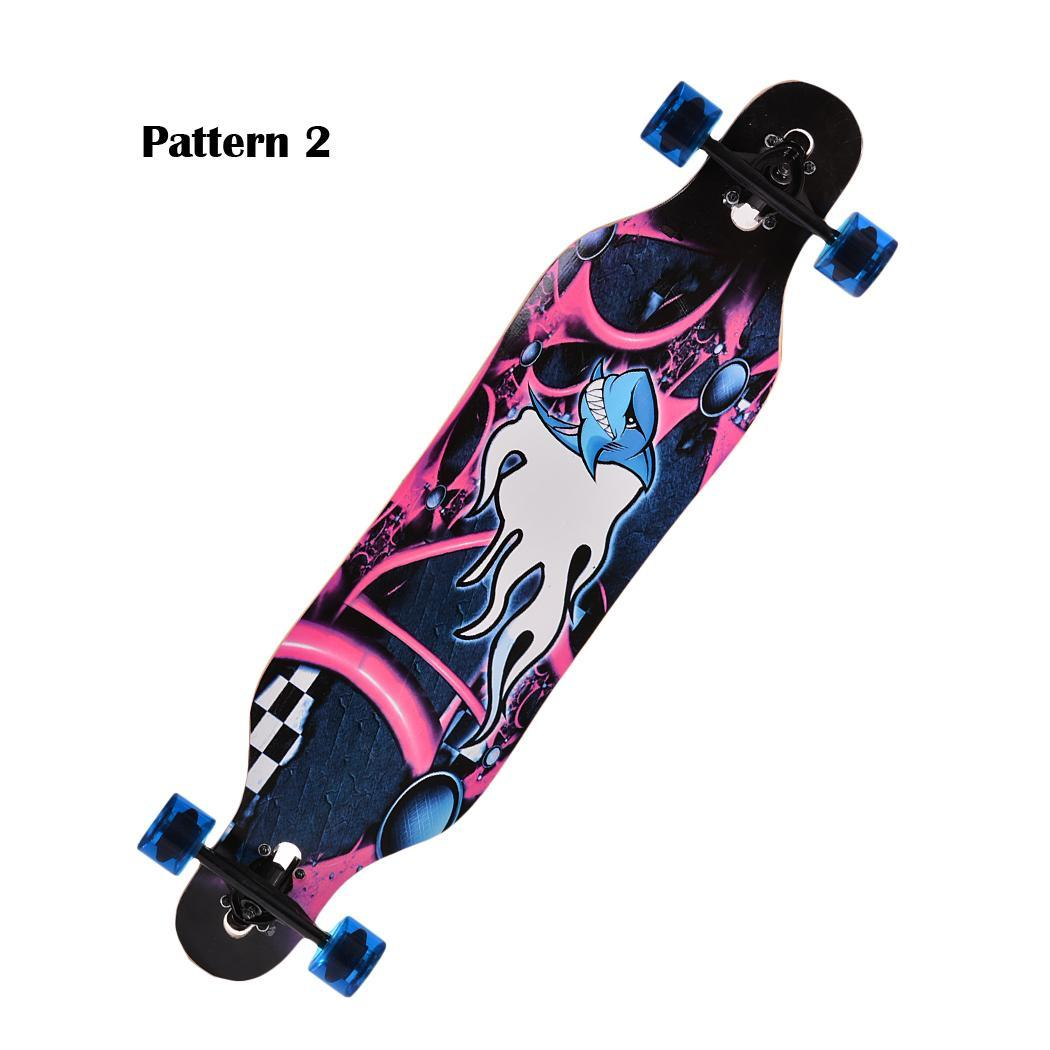 41 skate board longboard drop through board freeride streetsurfer komplettboard ebay. Black Bedroom Furniture Sets. Home Design Ideas