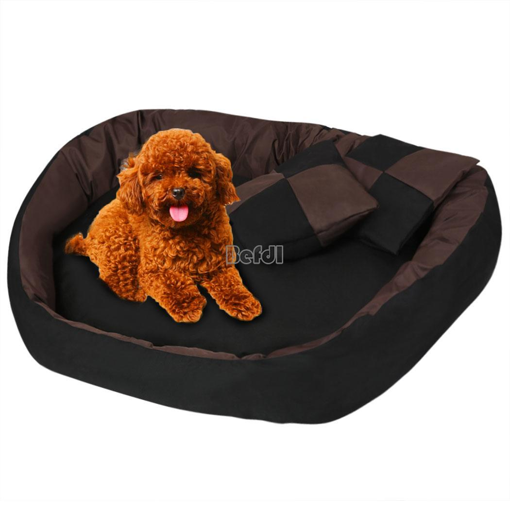 Oxford Cloth 4 in 1 Pet Dog Cat Bed Soft Indoor Warm Puppy Cushion House : eBay