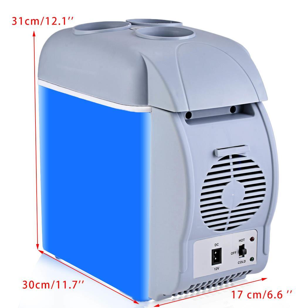 Small Portable Coolers : L mini car refrigerator cooler warmer portable