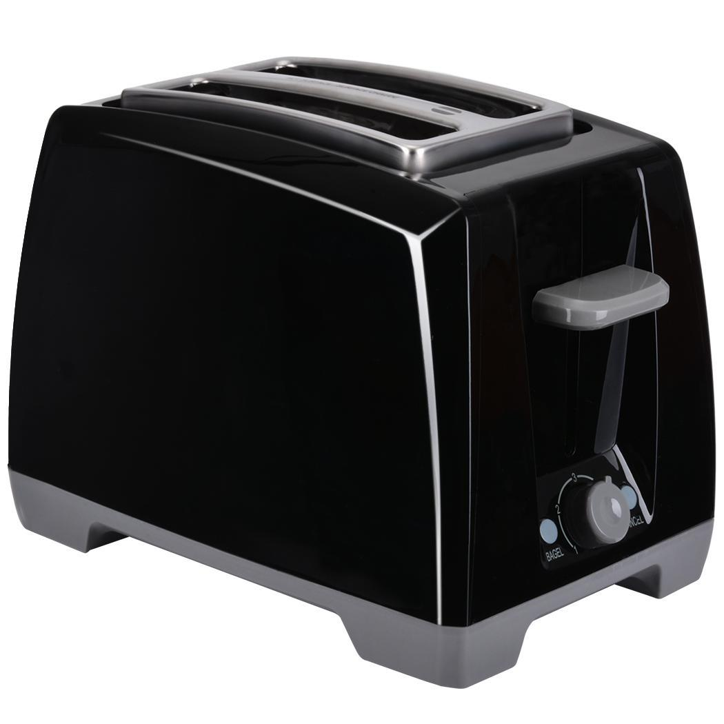 Toaster Plugged In ~ Black professional v w digital slice wide slot