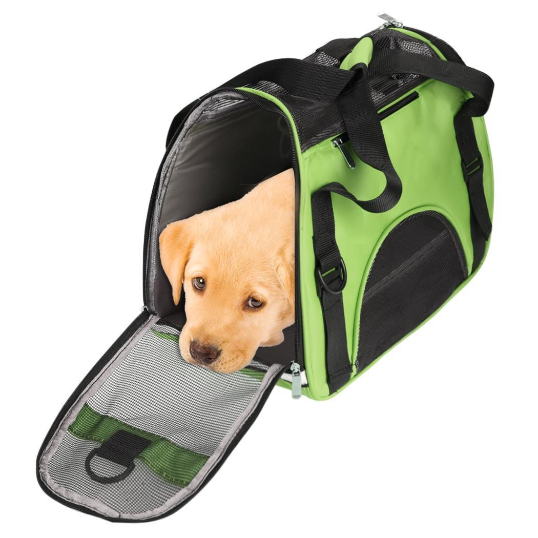 Small Pet Carrier Dog Cat Puppy Travel Bag Head Out