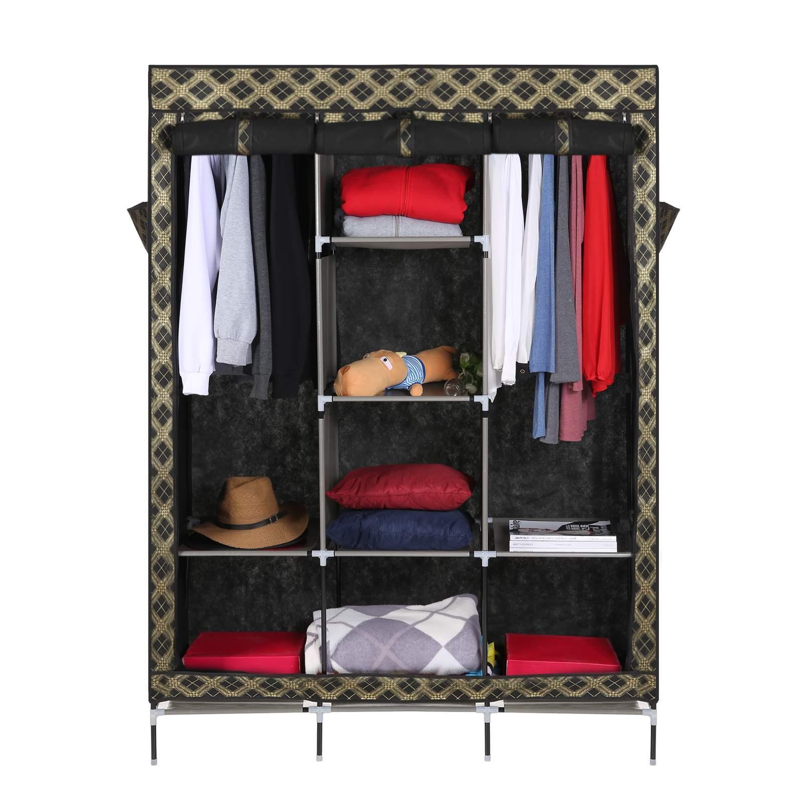 Portable Wardrobe Closets Furniture : Quot portable closet wardrobe armoire furniture
