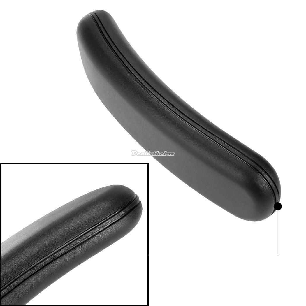 homdox 1 paar schwarz b rostuhl arm pad ersatzteil armlehne ebay. Black Bedroom Furniture Sets. Home Design Ideas