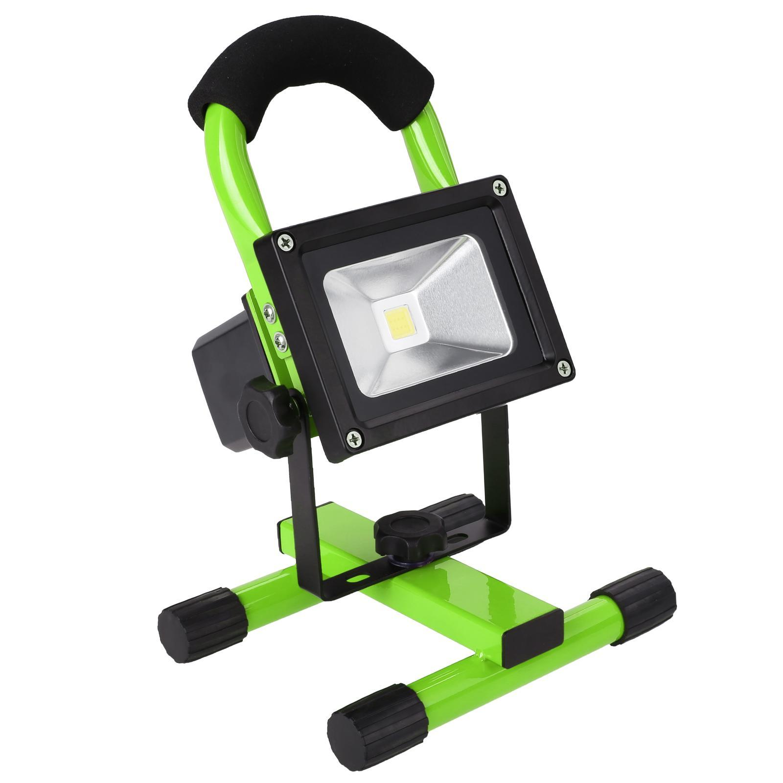 10W Portable Hi Power LED Work Light Outdoor Rechargeable