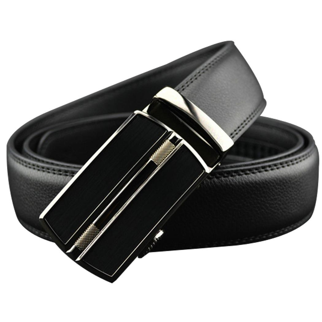 s fashion business synthetic leather belt automatic