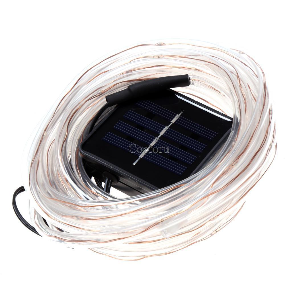 50led waterproof solar rope light light party decor light o99 ebay