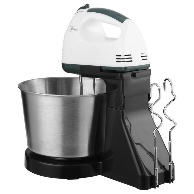 Electric Mixing Bowl ~ W stand mixer bowl kit electric blender food whisk