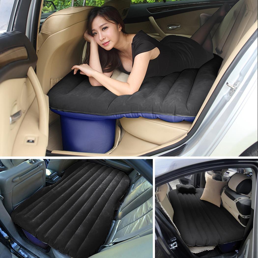 Inflatable Travel Camping Car Seat Sleep Rest Mattress Air