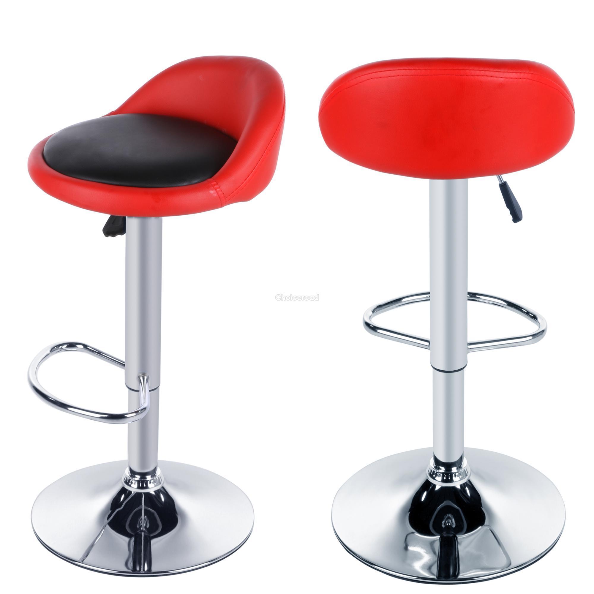 Homdox 2x Adjustable Height Rotating Bar Stool Dinning