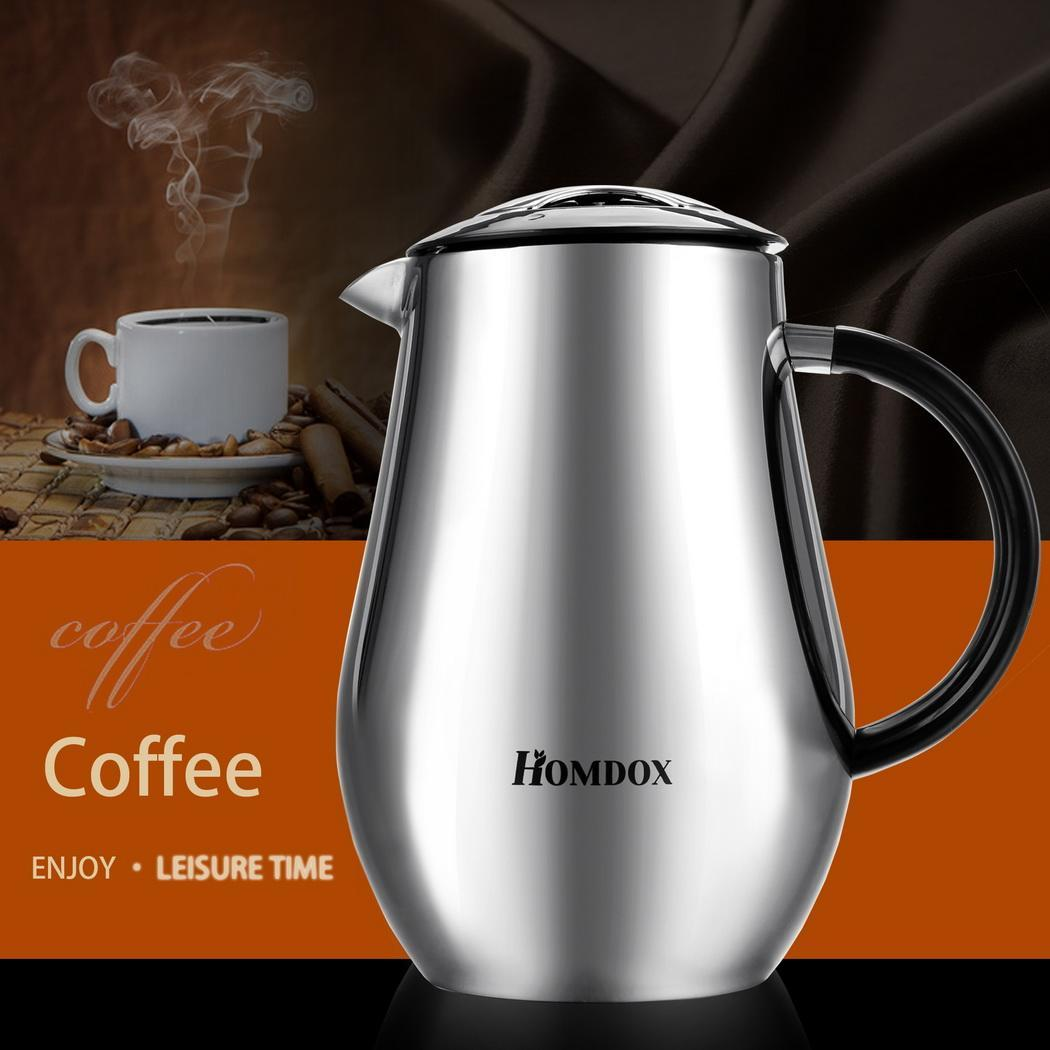 Coffee Maker Without Pot : 34oz Thermal Travel Coffee Carafe Portable Stainless Steel Press Insulat POT S0 eBay
