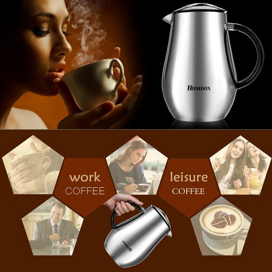 homdox teebereiter kaffee filter kaffeemaschine isolierflasch kaffeebereiter neu ebay. Black Bedroom Furniture Sets. Home Design Ideas