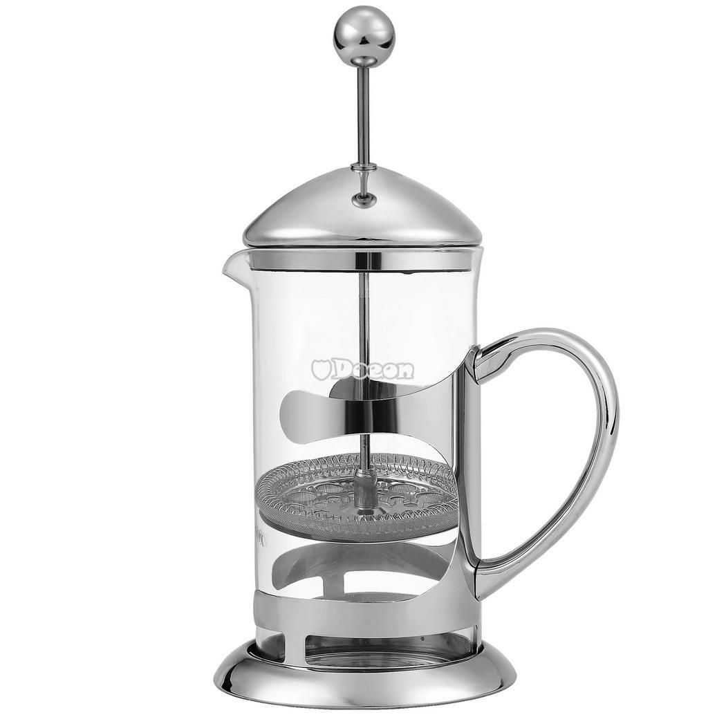 French Press Coffee Maker Thermos : French Press Coffee Espresso Maker Heat Resistant Glass Carafe kettle 1000mL eBay