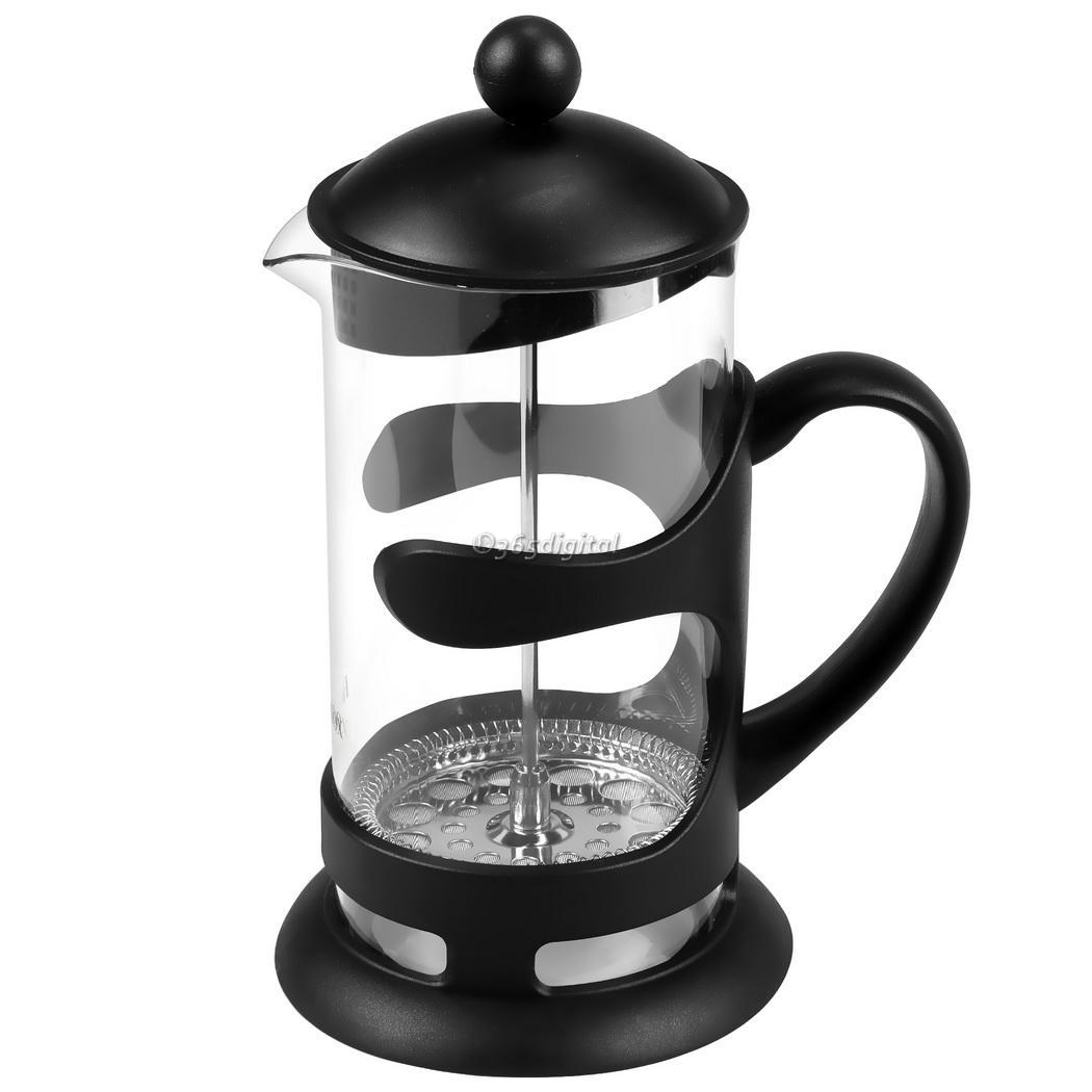 French Press Coffee Maker Thermos : Heat Resistant Glass Carafe kettle French Press Coffee Espresso Maker 1000ML eBay