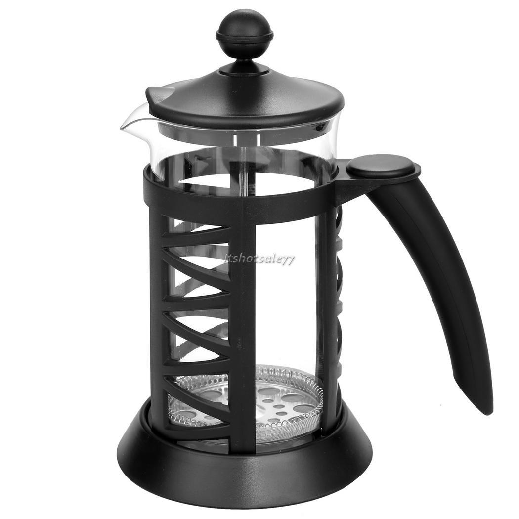 French Press Coffee Maker Thermos : HOMDOX Heat Resistant French Press Coffee Espresso Maker Glass Carafe kettle eBay
