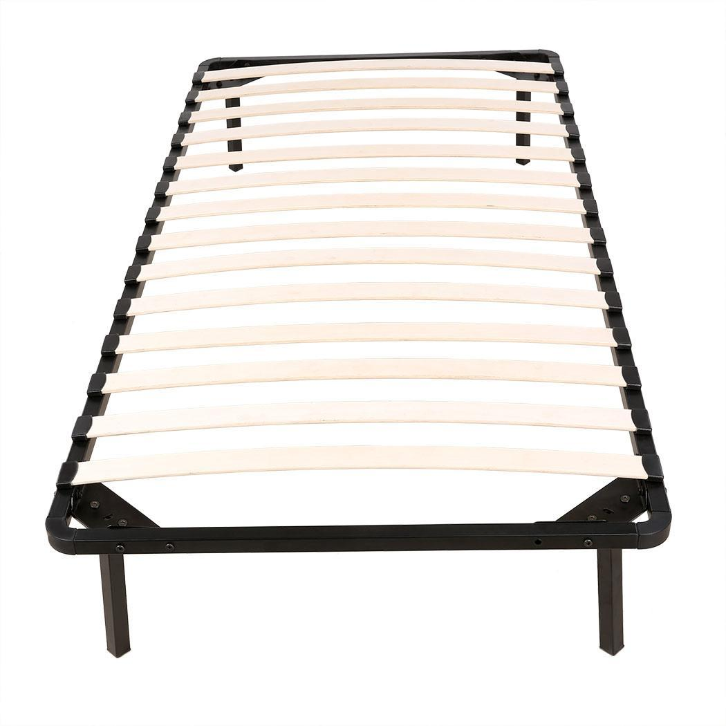 80 Twin Extra Long Xl Size Wood Slats Metal Bed Frame