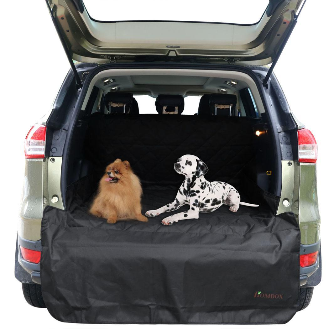 oxford waterproof car suv rear bench seat cover for pet dog cargo liner 57 x106 ebay. Black Bedroom Furniture Sets. Home Design Ideas