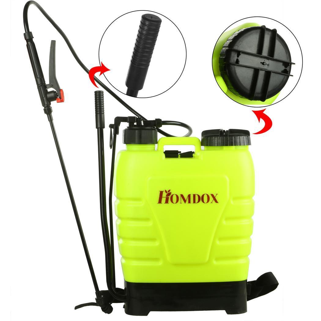 16l knapsack sprayers backpack pressure crop garden weed. Black Bedroom Furniture Sets. Home Design Ideas