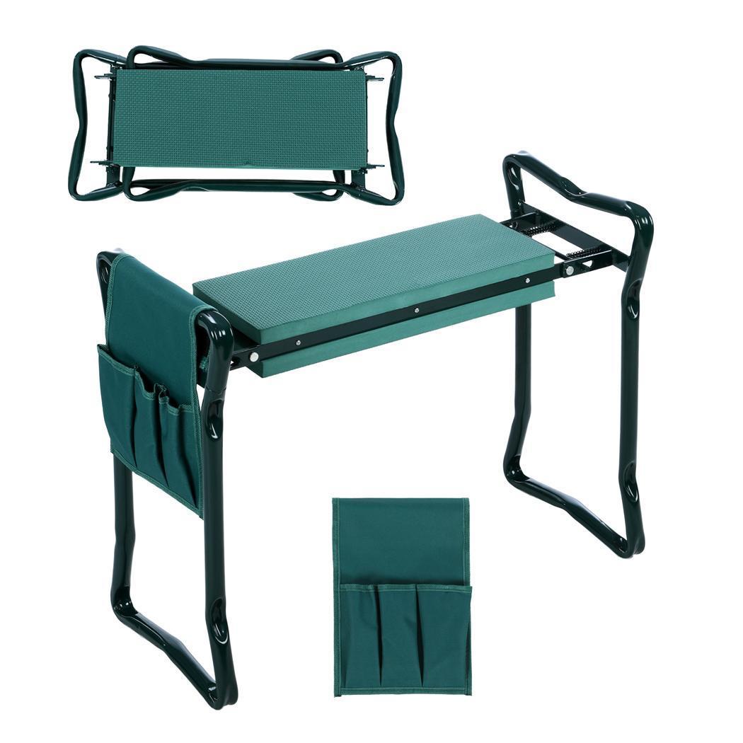 Hot Foldable Garden Kneeling Bench Seat Pads Knee Saver Garden Device Ebay